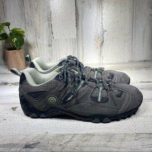 Hi-Tec Tiago Gray Suede Hiking Shoes
